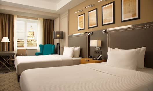 Two Double Beds Guest Room
