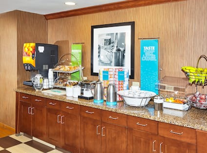 Breakfast Serving Area