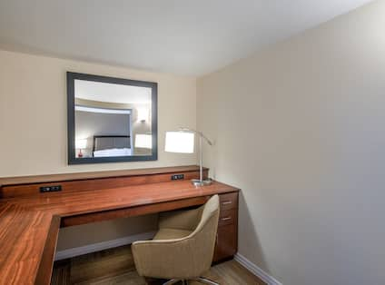 Accessible Guest Room with Spacious Work Desk Area