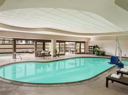 Relax at Our Indoor Pool