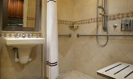 Studio ADA Roll-In Shower