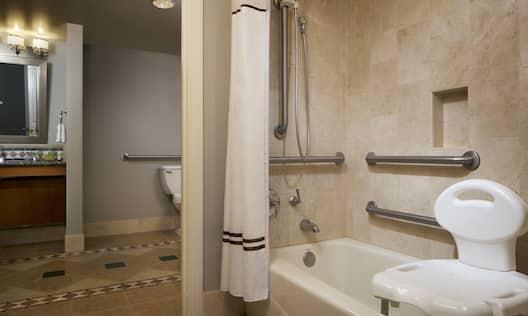 Suite ADA Accessible Tub