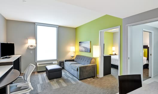 Home2 Suites by Hilton Azusa Hotel, CA - One Bedroom Suite