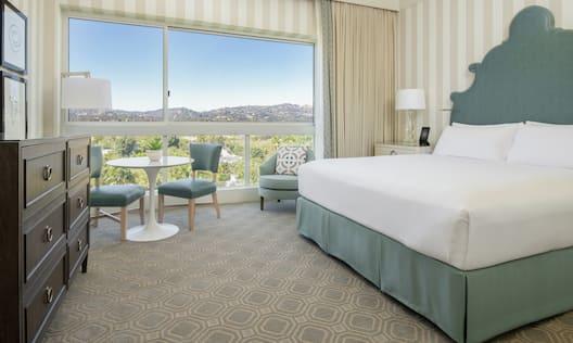 Single King Bed Premier Guestroom