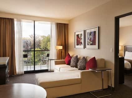 King Bed Garden View Suite