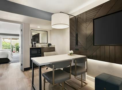 Parlor Guestroom with HDTV