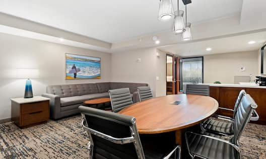 Meeting Table and Lounge