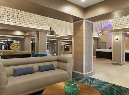 Embassy Suites Lobby and Lounge Area