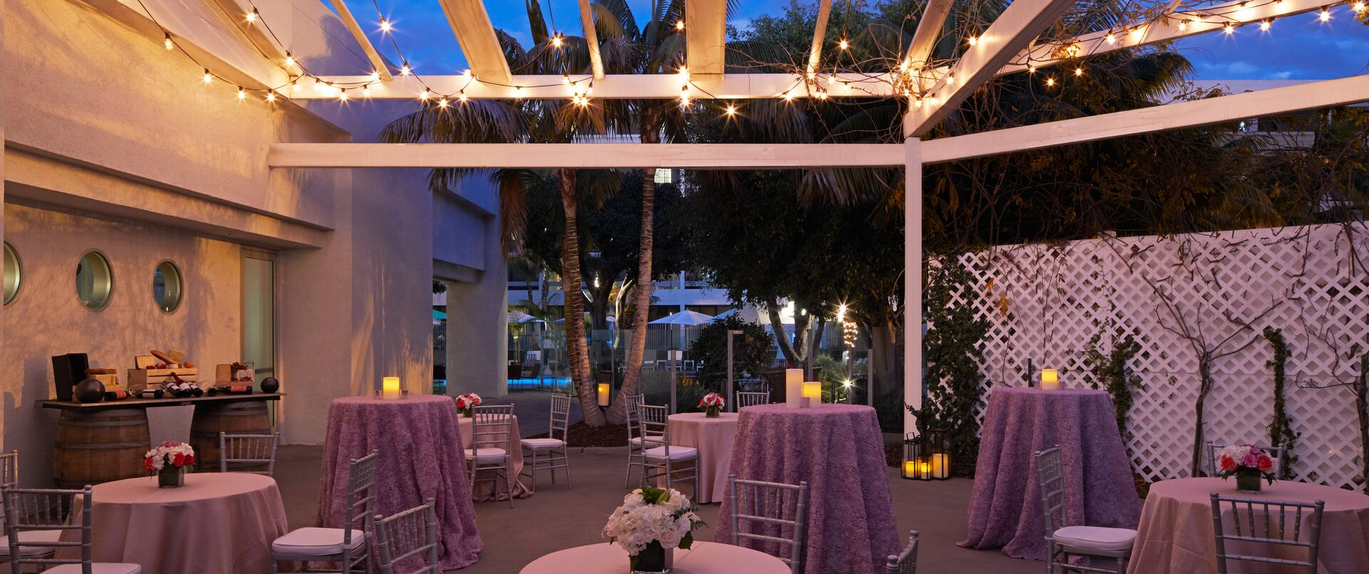 Event Space with Seating