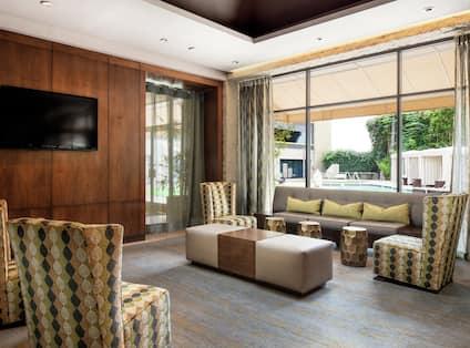 Elements Restaurant Lounge Area