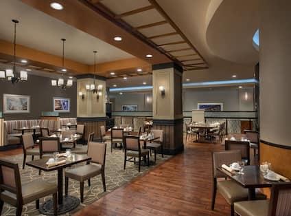 Sonoma Grill Restaurant Seating