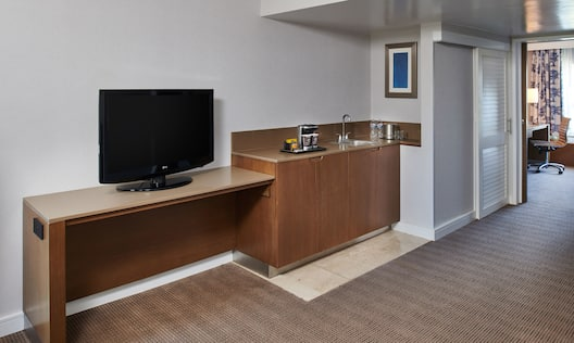 Suite Wetbar Area and TV