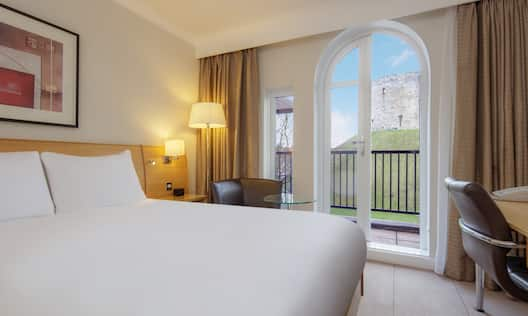 Queen Deluxe Plus Room with Balcony and Tower View