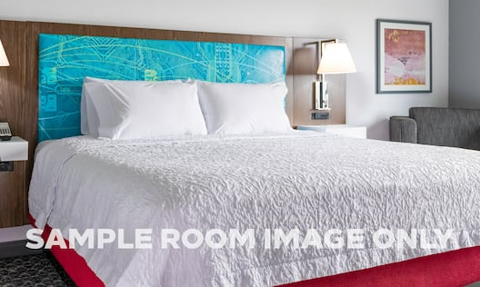 King Bedroom with Sample Room Image Only Watermark