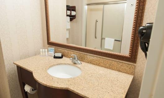 Bathroom Vanity - Shower