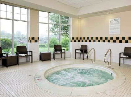 Jetted Spa, Indoor Pool Area