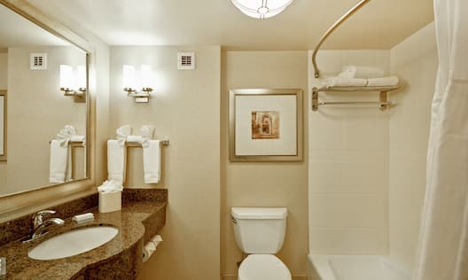 Guest Room Bathroom with Tub/Shower