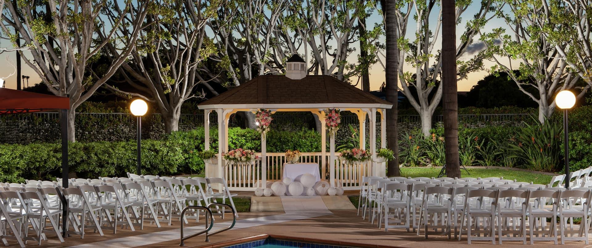 Pool Wedding Gazebo