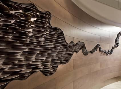 Stone Wave Wall Art