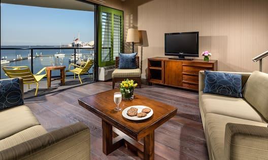 King Loft Suite Living Area