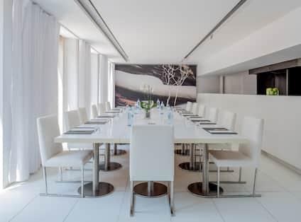 Meeting Room Set Up In Restaurant Salhanha