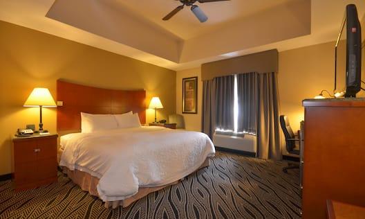 Hampton Inn Bryant Hotel, AR - King Bedroom