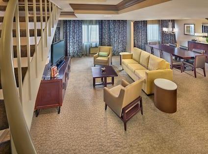 Presidential Living Area