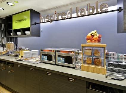 Inspired Table Breakfast Buffet
