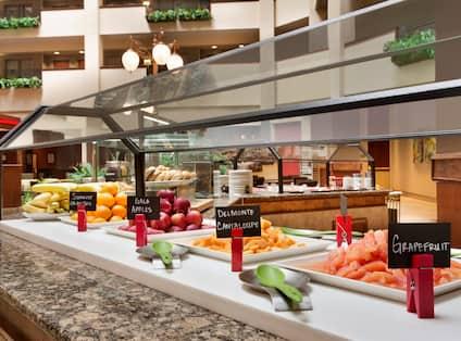 Breakfast Area Buffet Selections