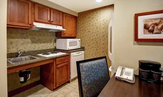 Accessible Guest Room Kitchen