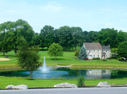 Golf Course and Water Feature