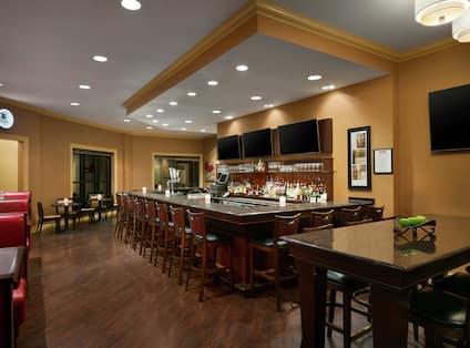 View of Café 24 Hundred Lounge
