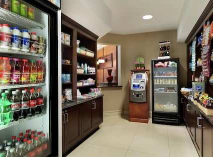 Pavilion Pantry with Snacks and Drinks