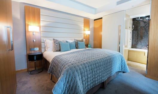 One Bedroom DLX Duplex Suite - Bedroom