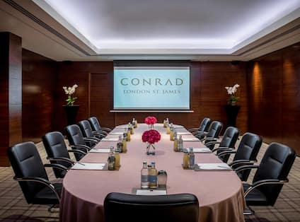 Business Meeting Area
