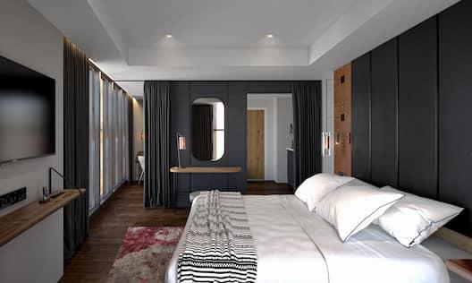 Gantry Suite Bedroom View