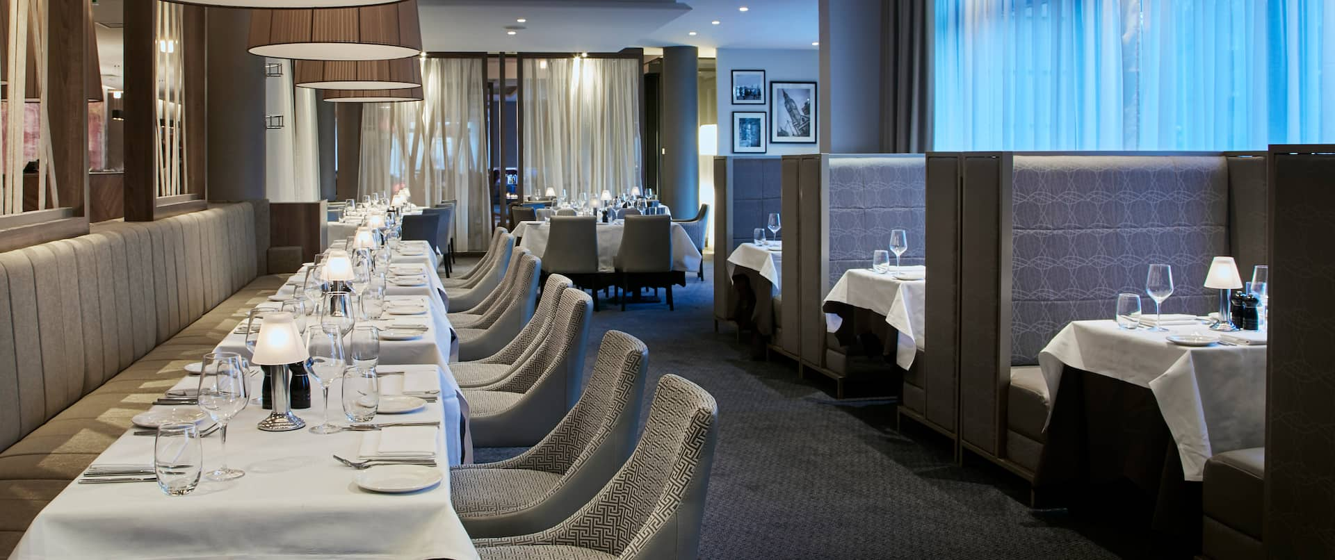 Marco Pierre White Steakhouse Seating