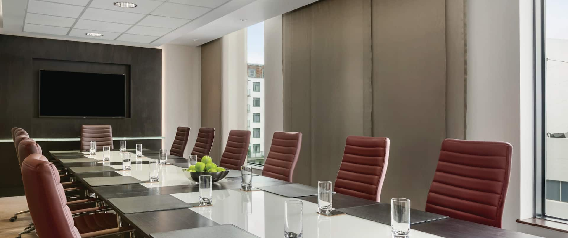 Boardroom With Conference Table
