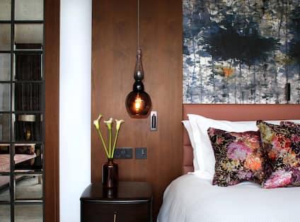 Penthouse suite bedroom