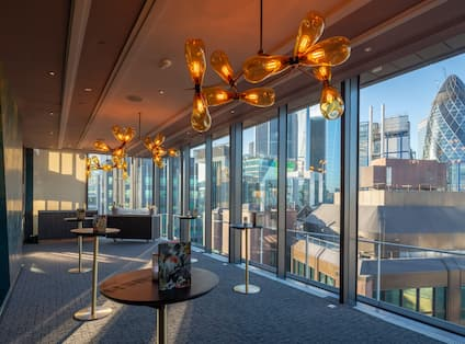 Ferus Suite, with View of the Gherkin