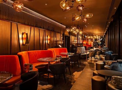 Savage Garden Lounge Area
