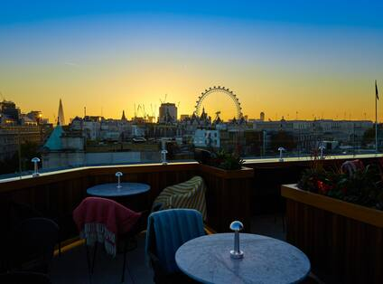 View from the Rooftop Restaurant