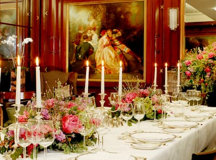 Executive Boardroom with Flowers