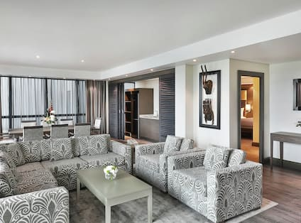 Penthouse Suite Living Room