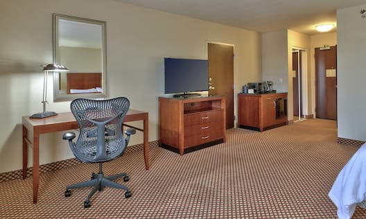 Accessible Single King Guestroom Amenities