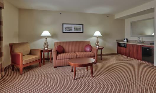 Two Room Guestroom Suite Living Room