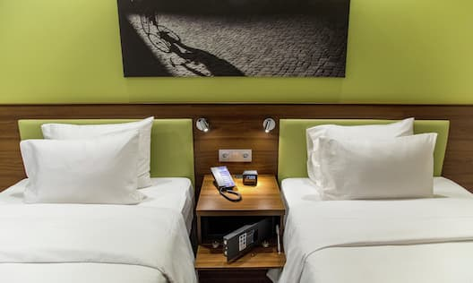Two Beds in Standard Twin Guest Room