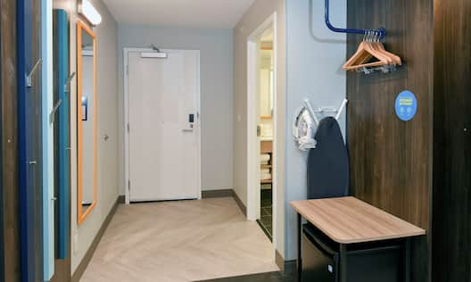 Accessible Guest Room Entrance
