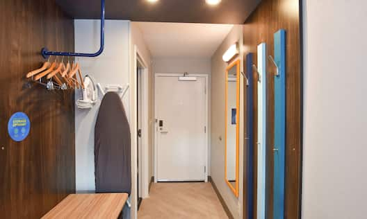 Hearing Accessible King Guest Room Entry