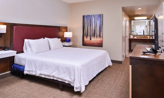 King Accessible Guest Room With TV